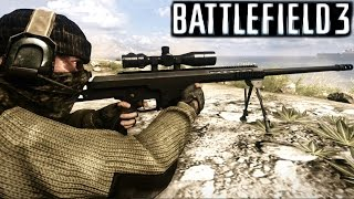 Battlefield 3 Sniper Mission Gameplay Campaign