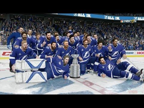 NHL 18 - Tampa Bay Lightning Stanley Cup Celebration
