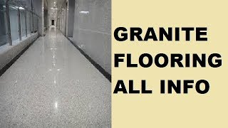 Granite Flooring - All you need to know about