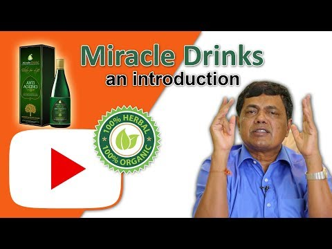 Introduction to Miracle Drinks Herbal products