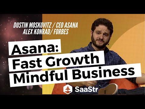 Dustin Moskovitz, Asana: Fast Growth, Mindful Business