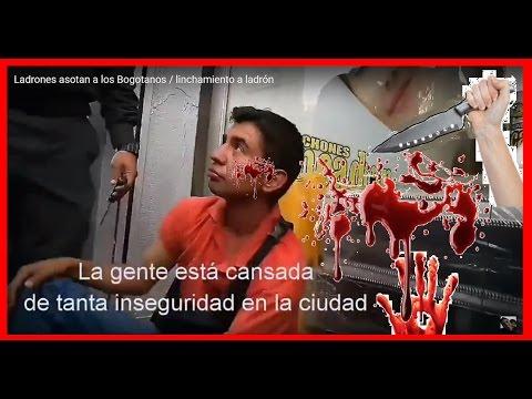 Ladrones azotan a los Bogotanos / ladrón atrapado - Seguridad