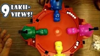 Funskool Hungry Hungry Hippos Gameplay & Review - Best Family Game For Lockdown Summer Holidays