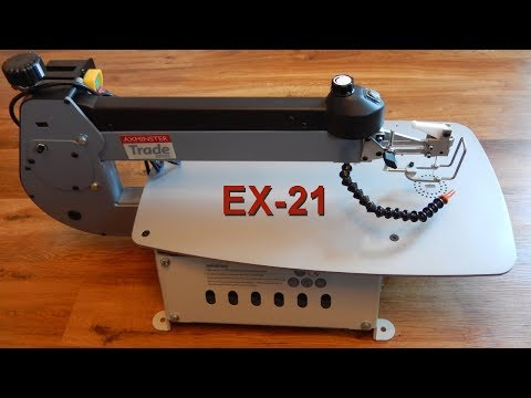 The Axminster EX-21 Scroll Saw
