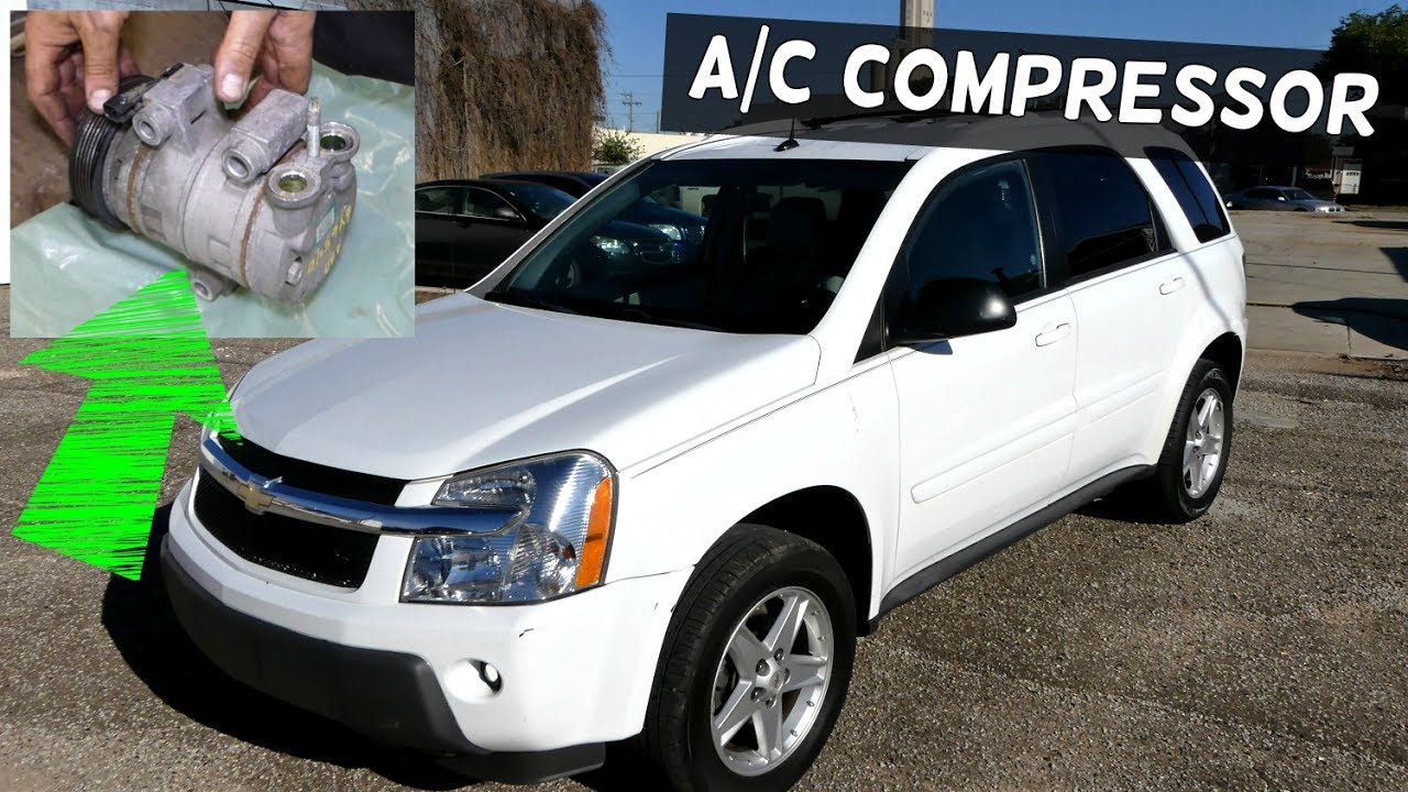 CHEVROLET EQUINOX AC COMPRESSOR REPLACEMENT PONTIAC TORRENT on