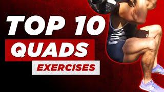 My Top 10 Quads Exercises | BJ Gaddour Legs Workout