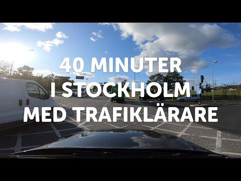 HÄNG MED I BILEN - Trafiklärare Kommenterar Hela Körningen