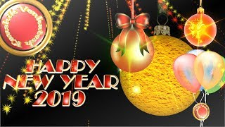 Happy New Year 2019 Wishes Whatsapp New Year Greetings Animation Message Ecard Download