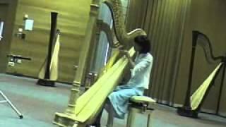 Noël Wan - 11 years old - Watching the Wheat (Harp)