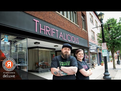 Vintage 'Thriftalicious' Gets Revitalized   Small Business Revolution - Main Street: S1E6