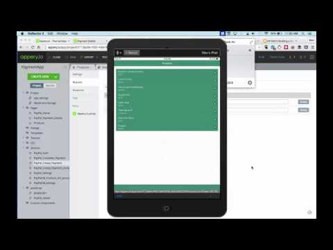 Building a Shopping App with Payments (May 13, 2015)