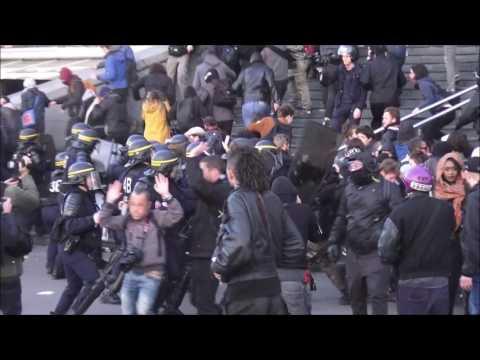 [ SHORTCUT ] Premier tour présidentielle 2017 : incident à Paris Bastille