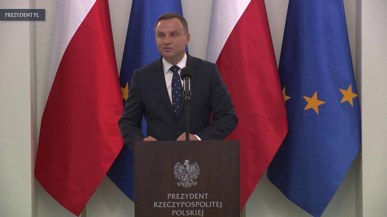 Prezydent RP Andrzej Duda spotkał się z Ambasadorami RP
