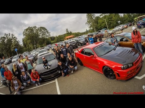 Paul meets geilste Karren - Nissan Skyline R34 GTR & Dodge Charger