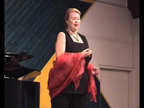 """LUANA DEVOL sings Wagner-Sieglinde """"Der Männer Sippe..."""""""