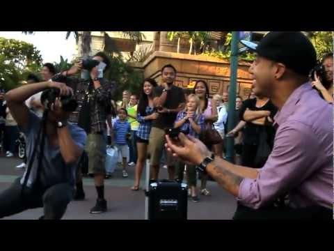 Jamin's Downtown Disney Flashmob Proposal