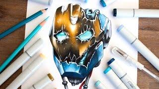 Drawing Ultron Mark 1