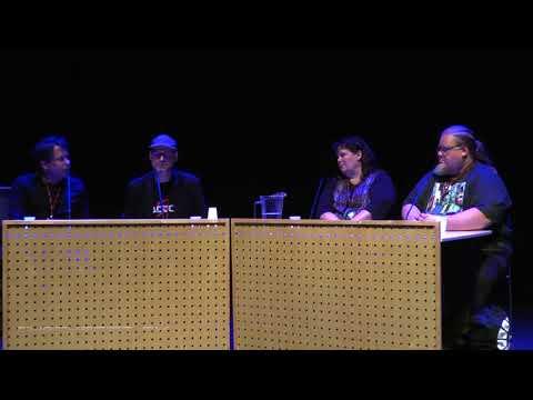 Tracon 2017 panel discussion: Chris Huelsbeck, Jonne Valtonen, Angel Leigh McCoy, Ville Vuorela