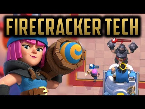 How To Use And Counter: Firecracker // Clash Royale New Card And Mechanic Tips!
