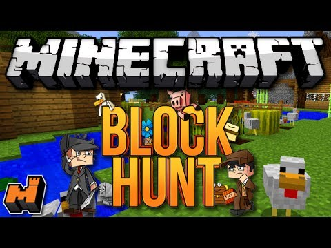 Minecraft: STEALTH CHICKEN! (Mineplex Block Hunt)