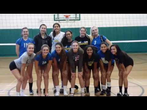 Foothill HS Girls Varsity Volleyball 2016 vs. The Branson School
