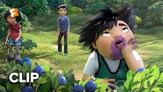 Abominable Movie Clip - Everest Creates Blueberries with His Magic (2019)   Fandango Family