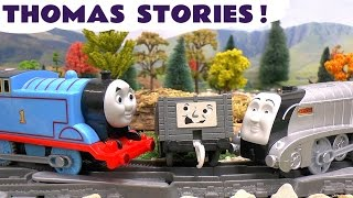 thomas and friends play doh diggin rigs accident crash rescue stories with minions trackmaster