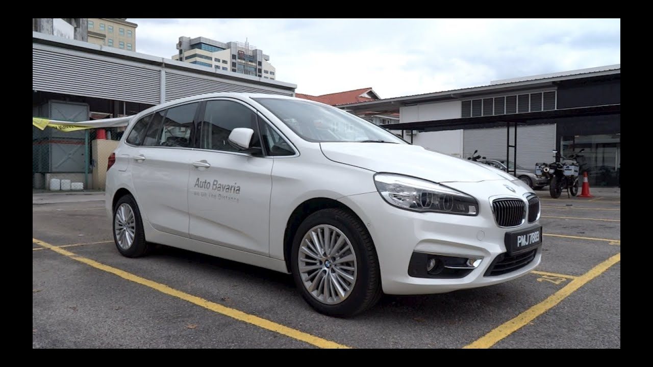 2015 bmw 220i gran tourer luxury line start up and full. Black Bedroom Furniture Sets. Home Design Ideas