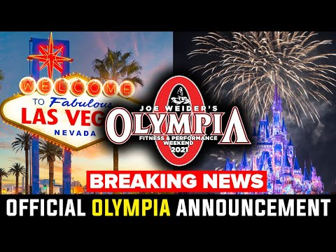 2021 MR. OLYMPIA HOST CITY & DATES ANNOUNCED!