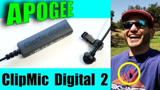 Apogee ClipMic Digital 2: Vlog Field Test! YOUR thoughts on the audio quality?