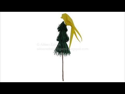 Origami Quetzal (Aileen Edwin) Video Tutorial *HD*
