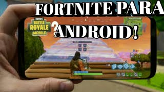 FORTNITE/ONE MORE STEP FOR ANDROID-TRUTH OR FALSE?