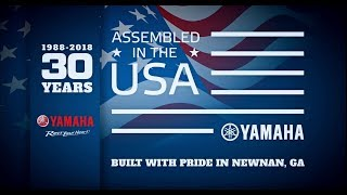 From The Yamaha Factory In Newnan Georgia – 30th Anniversary