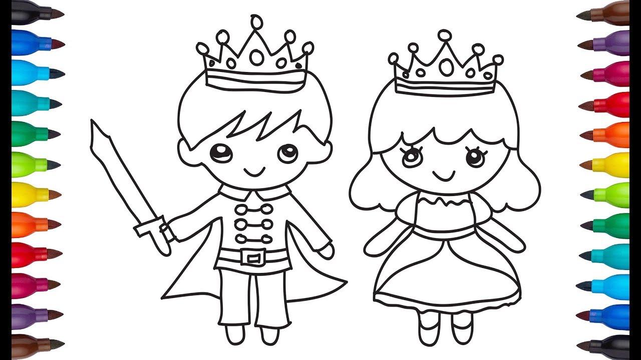 Drawing bride groom   bride groom easy drawing & coloring   color ...