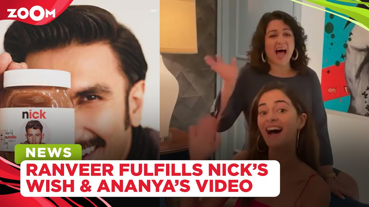 Ranveer fulfills Nick Jonas' wish | Ananya speaks Telugu & Kannada in Liger's announcement video