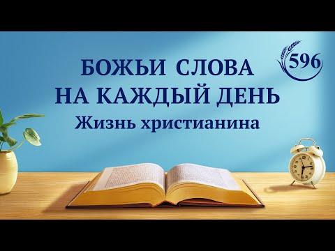 Божьи слова на каждый день | «Бог и человек вместе войдут в покой» | (отрывок 596)