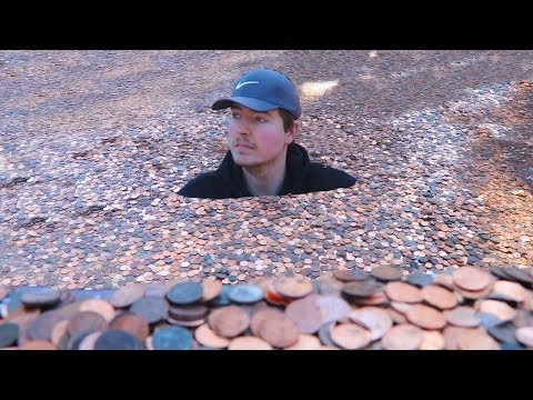 DZL - This guy put millions of pennies in his friends back yard