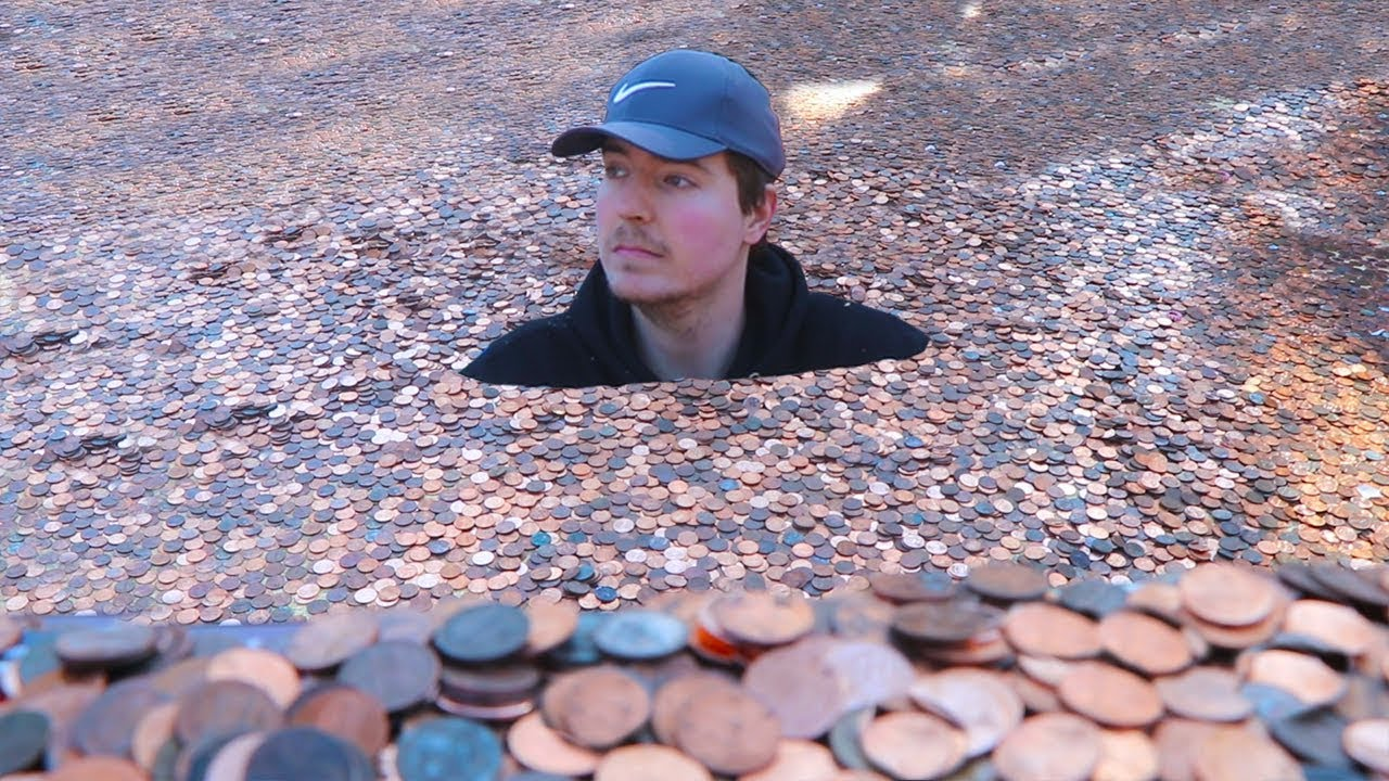 I Put Millions Of Pennies In My Friends Backyard