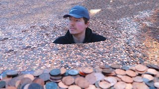 I Put Millions Of Pennies In My Friends...