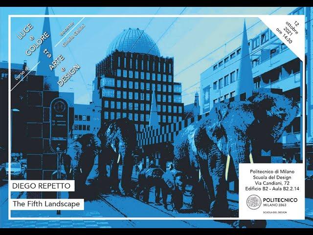 Luce e Colore tra Arte e Design | Diego Repetto - The Fifth Landscape