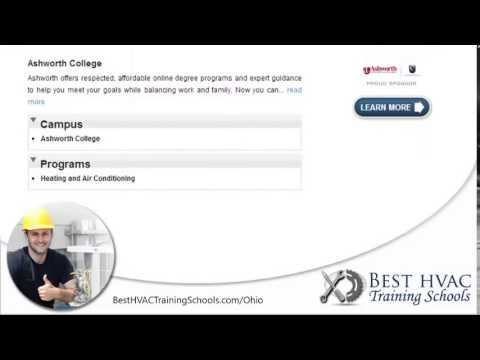 Top HVAC Training Schools in Ohio   OH HVAC Certification Programs