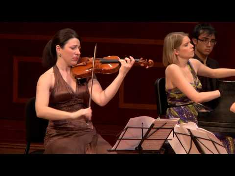 "Cortona Trio plays ""Elegy"", Op.23"