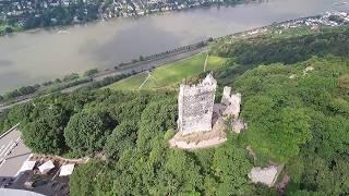 Schloss Drachenburg und der Drachenfels