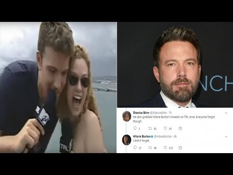 Hilarie Burton Says Ben Affleck Groped Her on 'TRL'