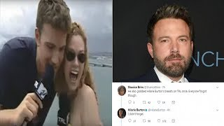 Hilarie Burton Says Ben Affleck Groped Her on 'TRL'