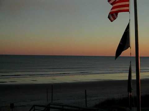 Sunset at Isle of Palms, South Carolina