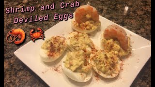 How to Make: Shrimp and Crab Deviled Eggs