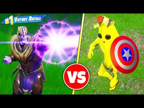 Overpowered THANOS vs AVENGERS