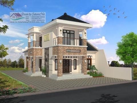 Desain Rumah Minimalis Lantai  2_Modern House (8x16)_4 K. Tidur