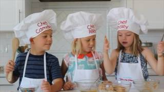 How To Make Easy Peanut Butter Balls - Kids in the Kitchen | Six Sisters Stuff